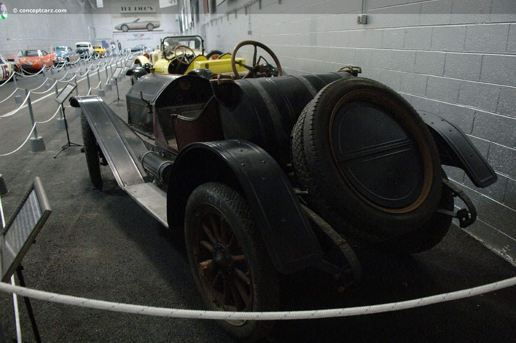 Auction results and data for 1912 Hudson Model 33 | Conceptcarz.
