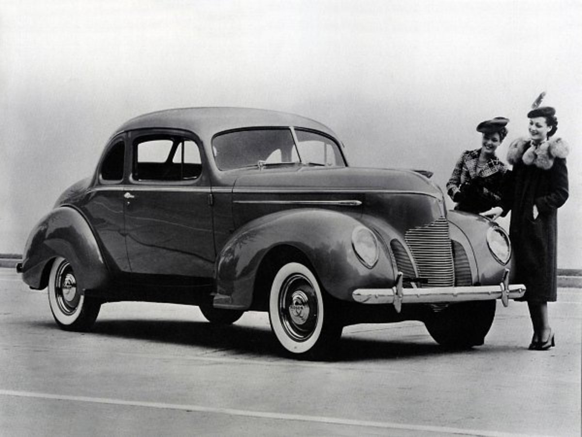 Hudson Deluxe Six Coupe 1939 Picture » ModifiedCars.