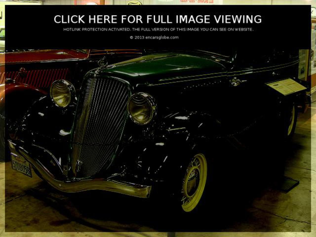 Hudson Terraplane KS 4 Door Sedan: Photo gallery, complete ...
