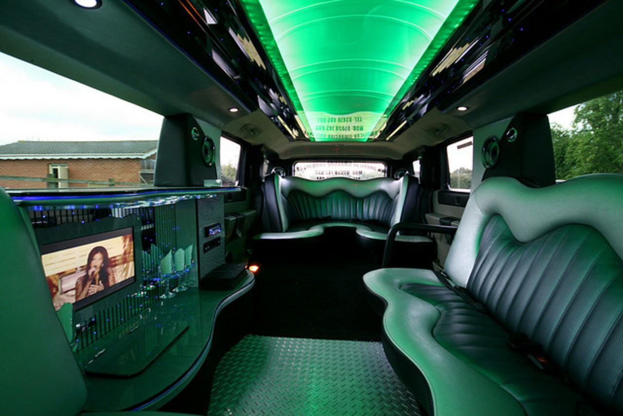 Hummer H2 Inside Green | Flickr - Photo Sharing!