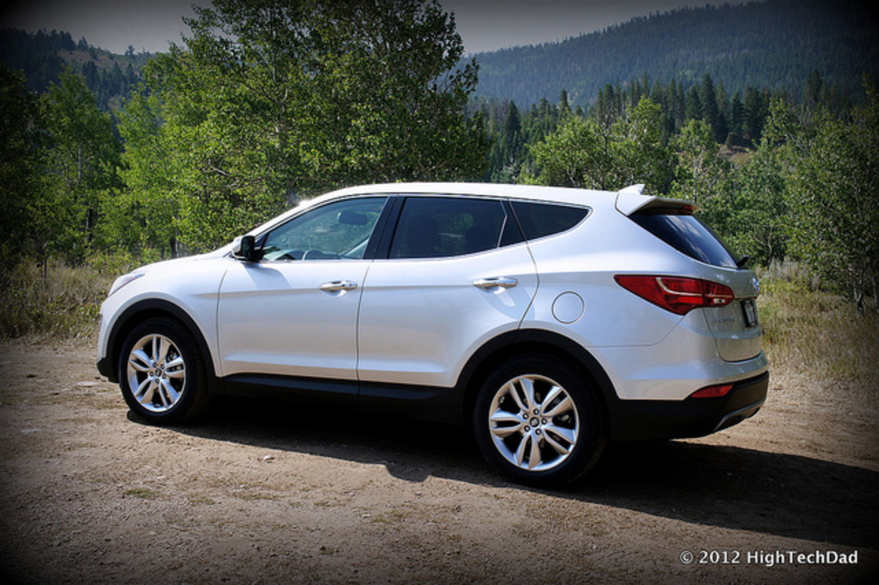 2013 Hyundai Santa Fe Side Profile - 2013 Hyundai Santa Fe Launch ...
