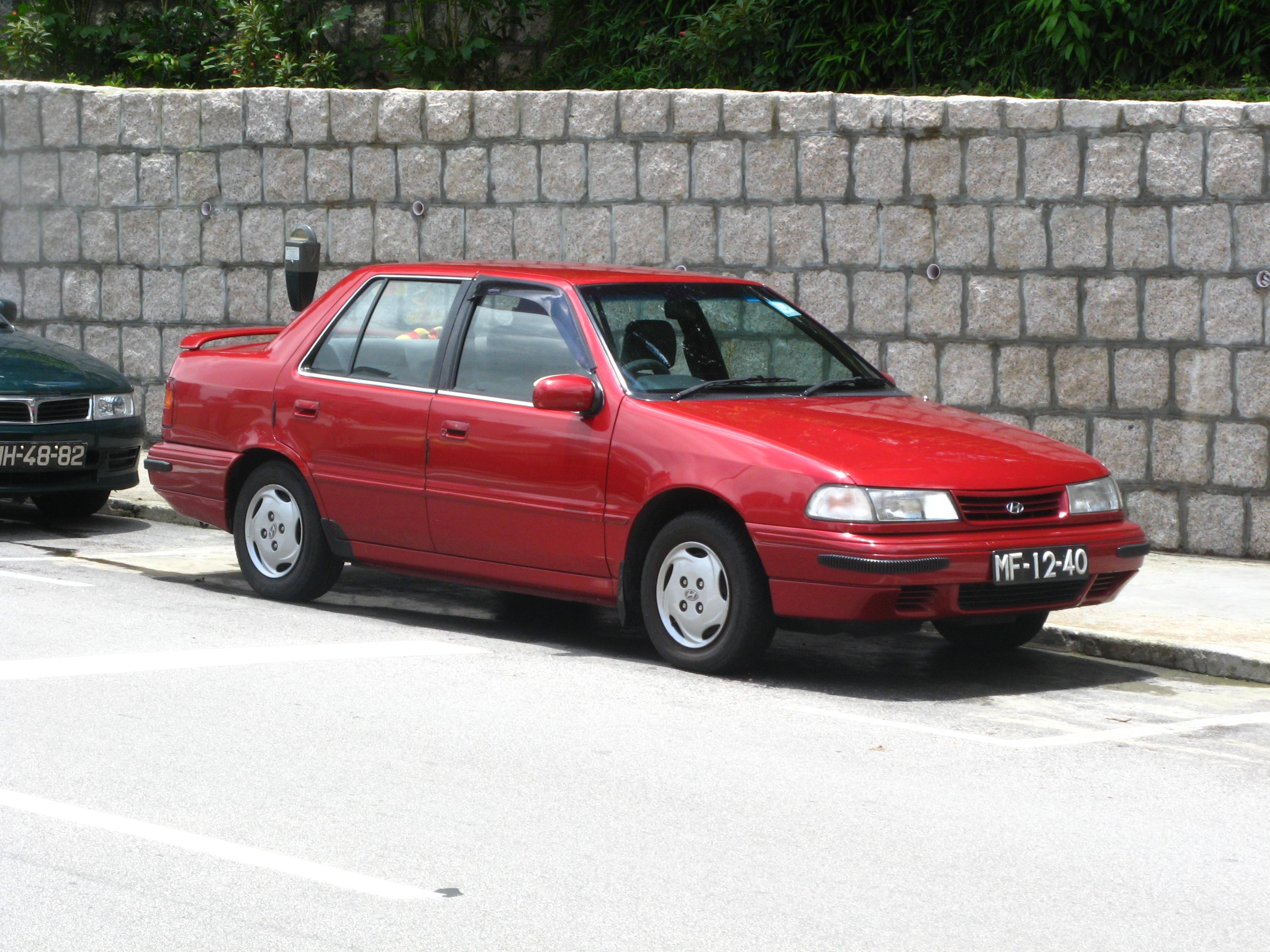 Topworldauto Gt Gt Photos Of Hyundai Excel Gls Photo Galleries