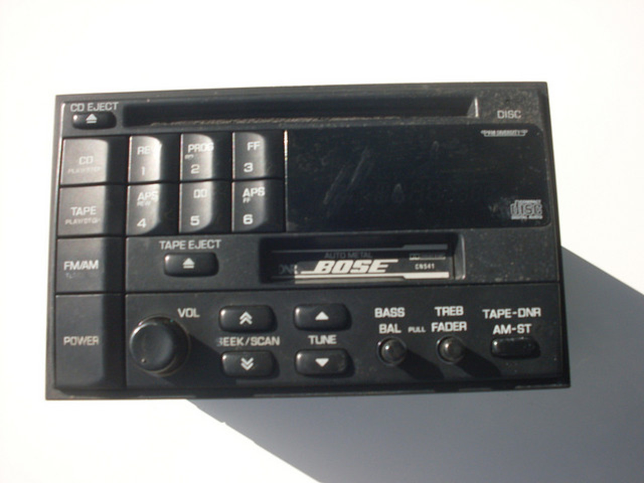 1996 Nissan Infiniti Bose CD Player | Flickr - Photo Sharing!