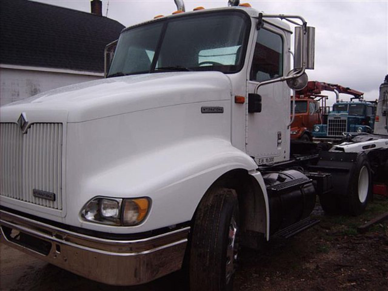 2001 International 9100i Day Cab Single Axle Single Axle Day Cab ...
