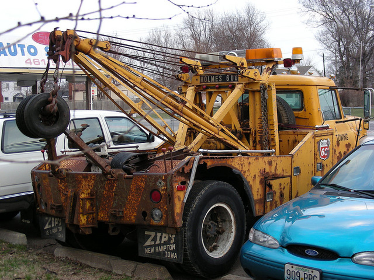 1960s International Wrecker | Flickr - Photo Sharing!