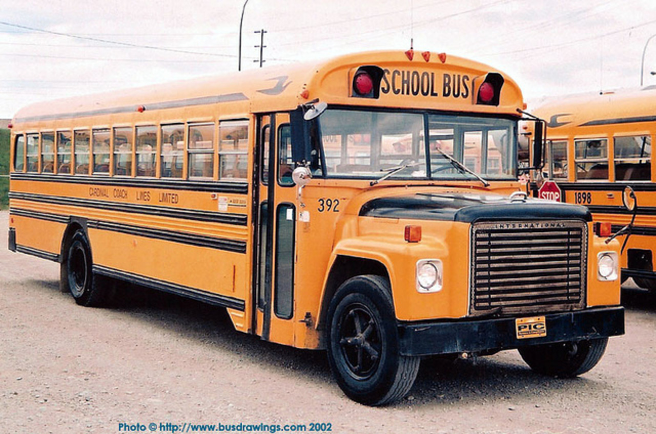 1978 Blue Bird/International Loadstar 1800 #392. | Flickr - Photo ...