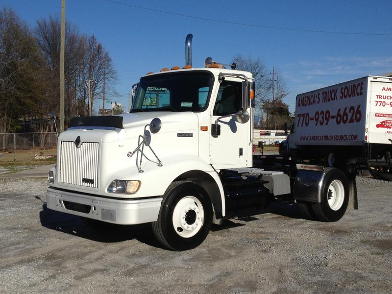USED 2001 INTERNATIONAL 9100I SINGLE AXLE DAYCAB FOR SALE ...
