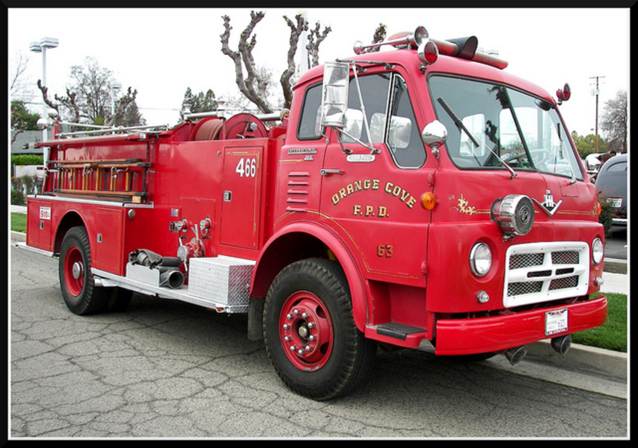 1966 International Van Pelt Firetruck | Flickr - Photo Sharing!