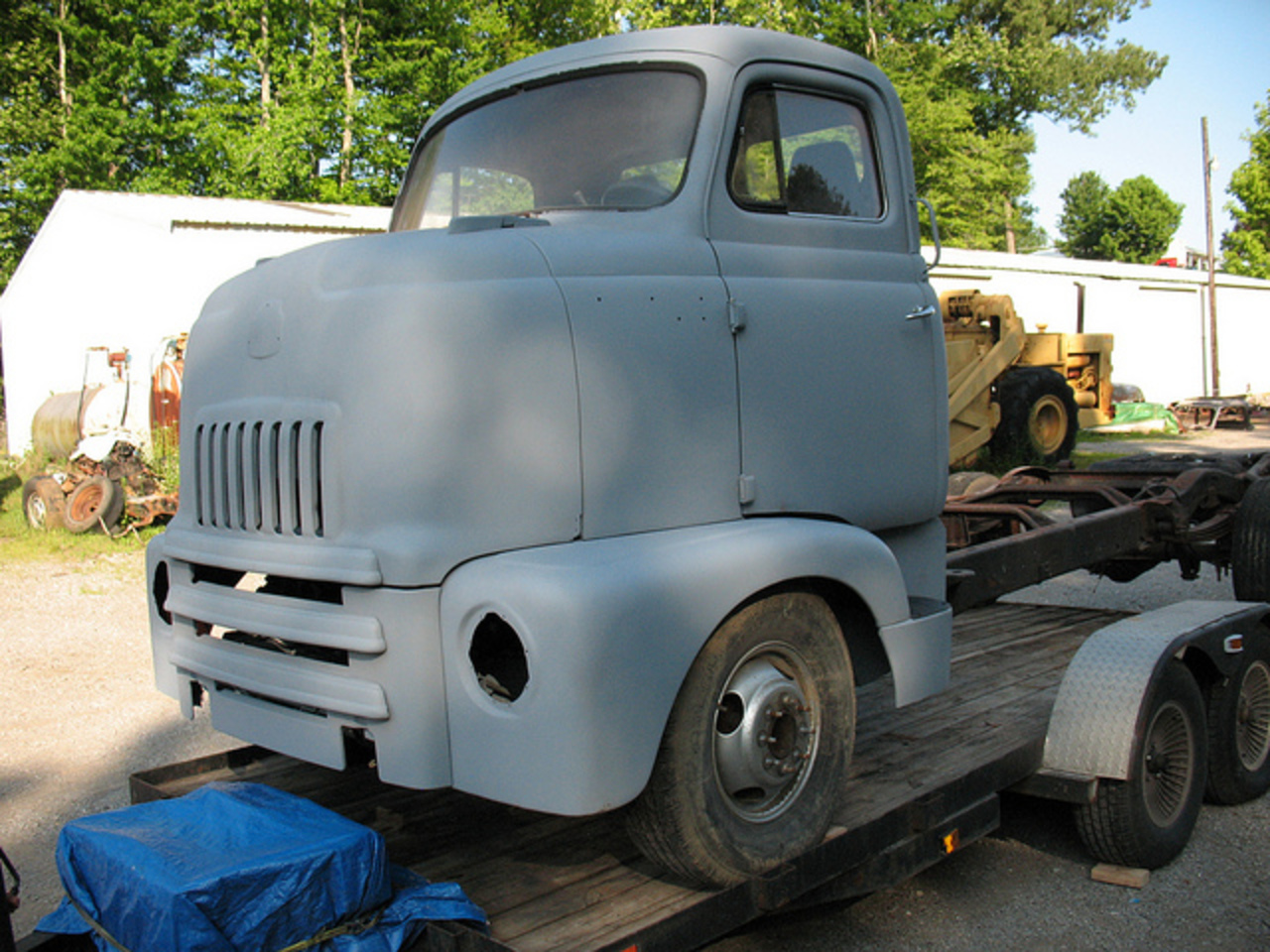 FOR SALE: 1952 International L-160 Series COE | Flickr - Photo ...