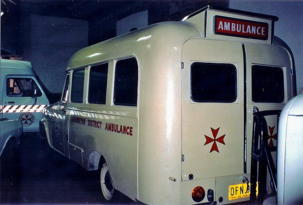 1965 International AB-110 ambulance | Flickr - Photo Sharing!
