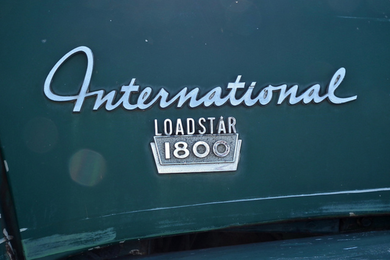 1969 International Loadstar 1800 prime mover | Flickr - Photo Sharing!