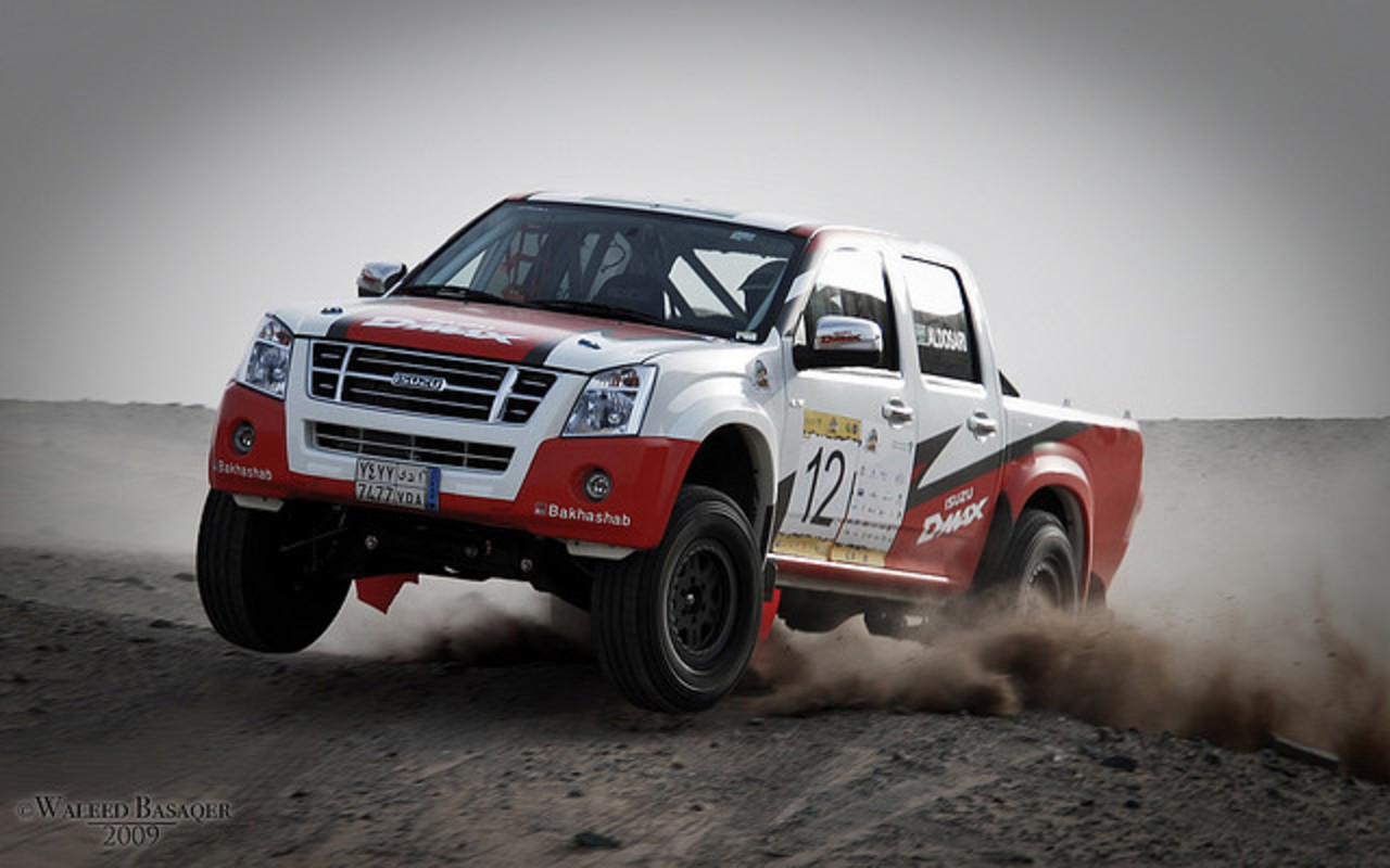 Isuzu D-Max Rally. | Flickr - Photo Sharing!