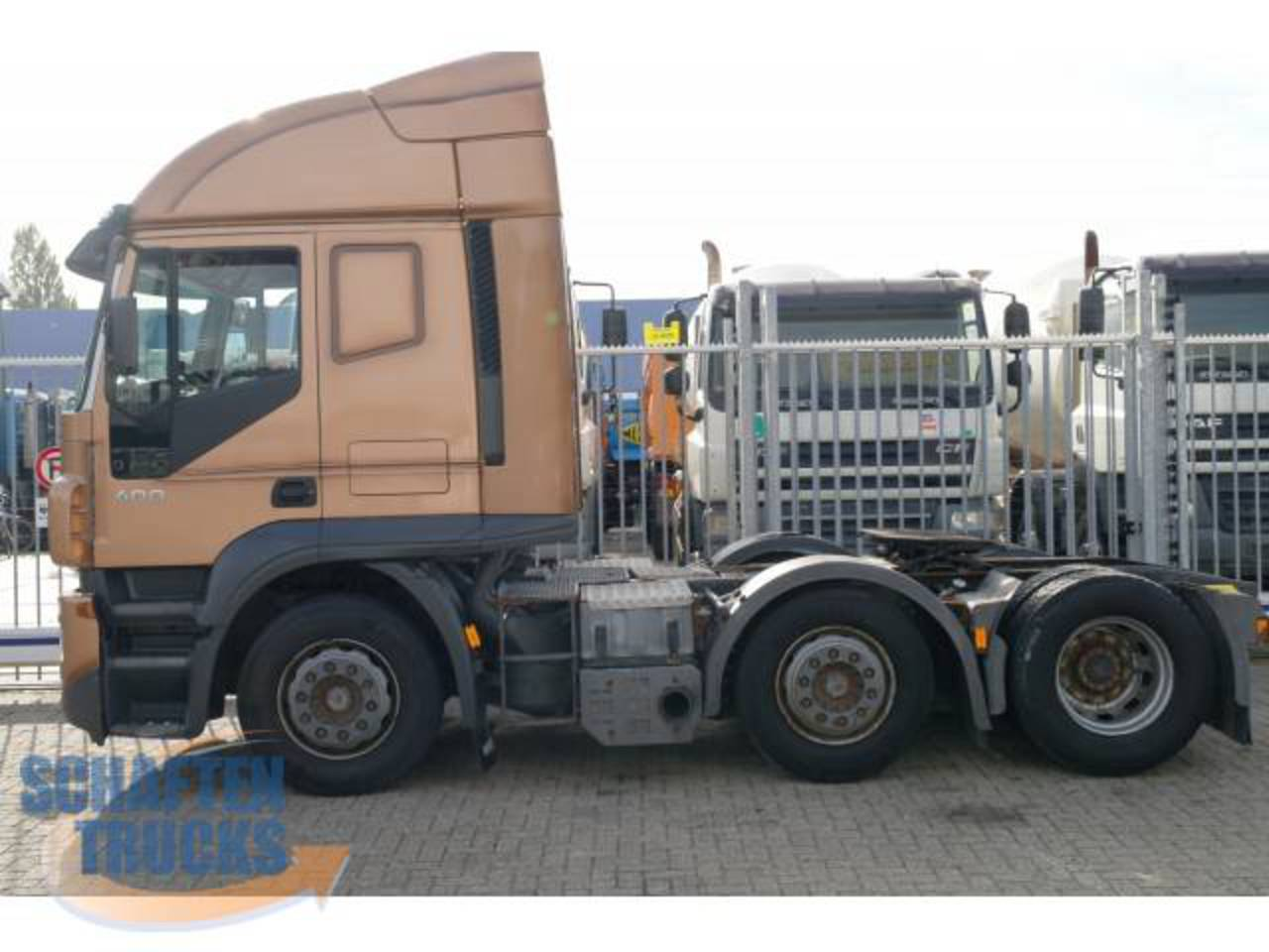 Schaften trucks - Trucks - Other - Iveco - STRALIS 400 6X2 MANUAL ...