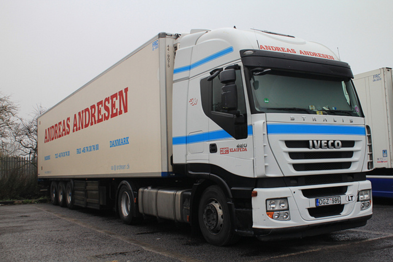 Iveco Stralis 420. | Flickr - Photo Sharing!