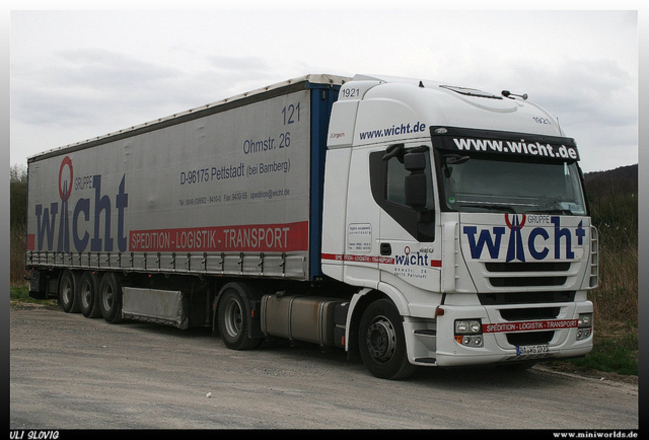 "Iveco Stralis 420 ""Wicht"" 