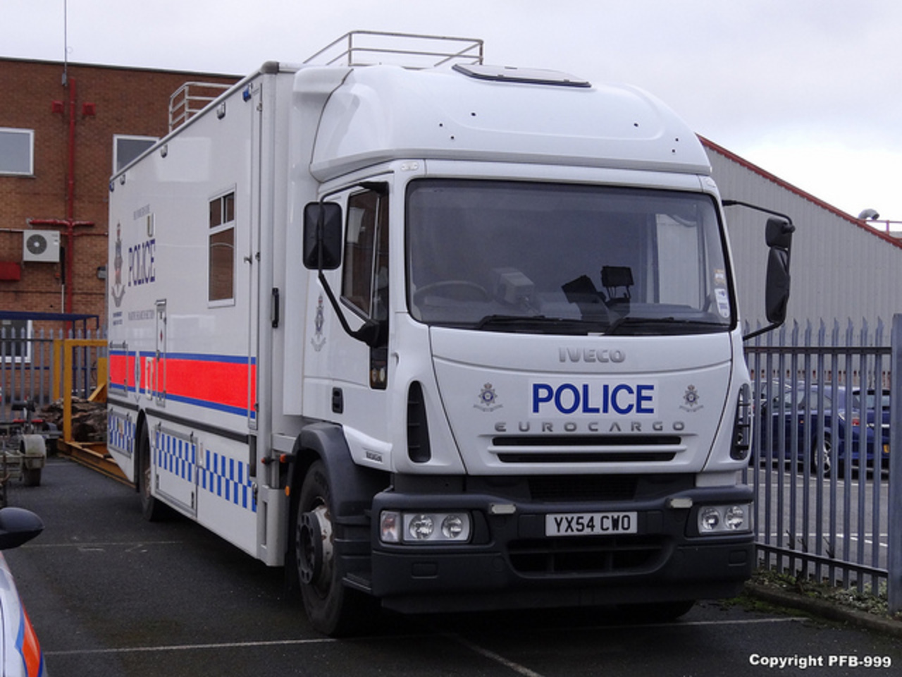 Humberside Police Iveco Eurocargo Marine Search Section Truck ...