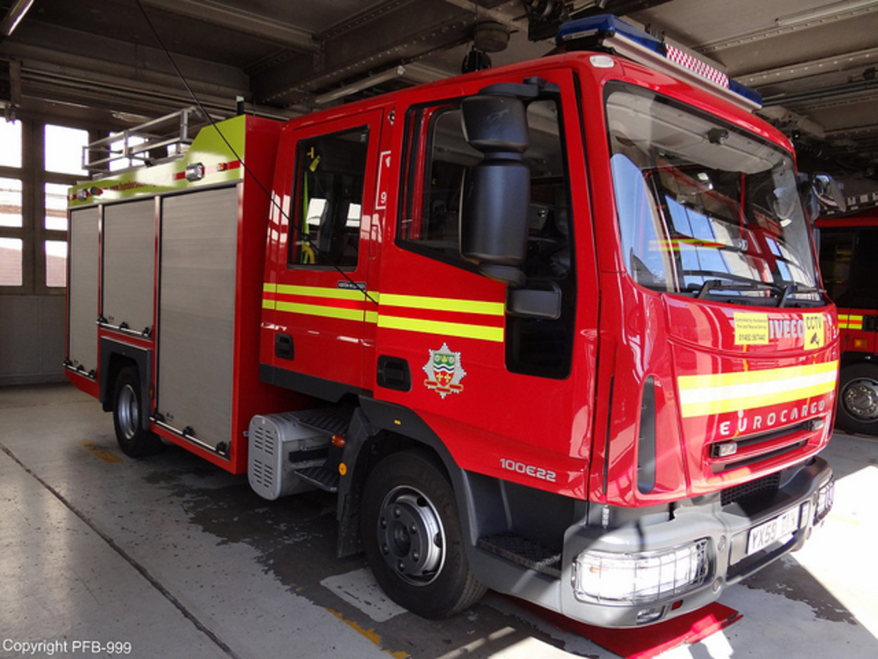 Humberside Fire & Rescue Service Iveco Eurocargo Water Tender ...