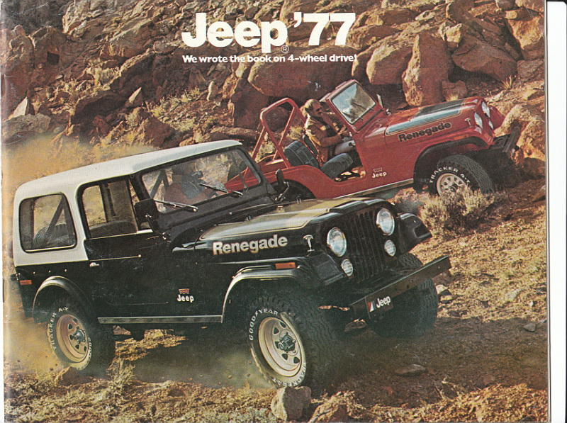 1977 Jeep CJ-7 Renegade And CJ-5 Renegade. | Flickr - Photo Sharing!