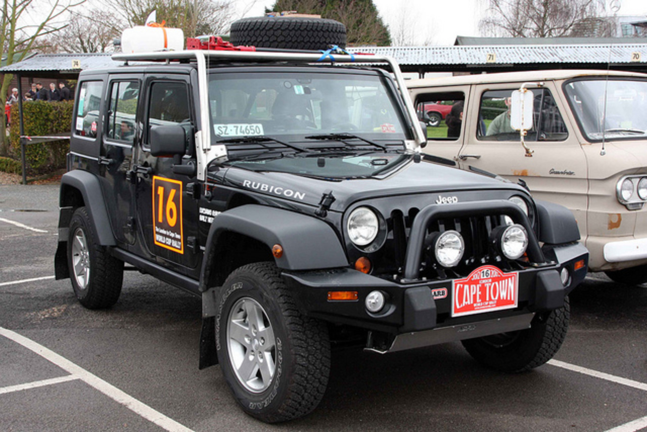 London to Capetown World Cup Rally 2012 - 2011 Jeep Wrangler ...
