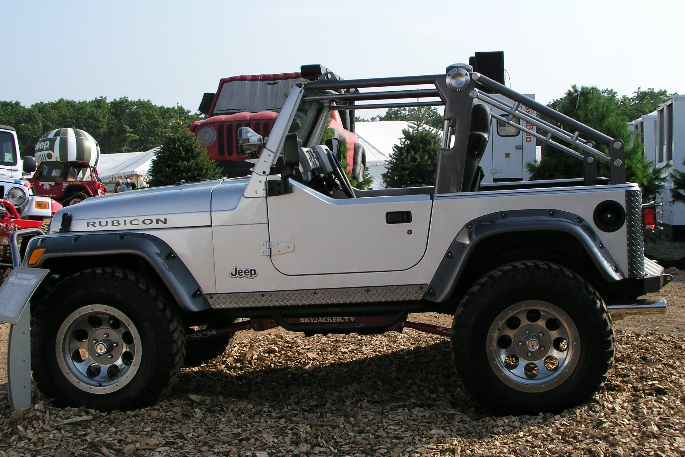 Tomb Raider Jeep Wrangler | Flickr - Photo Sharing!