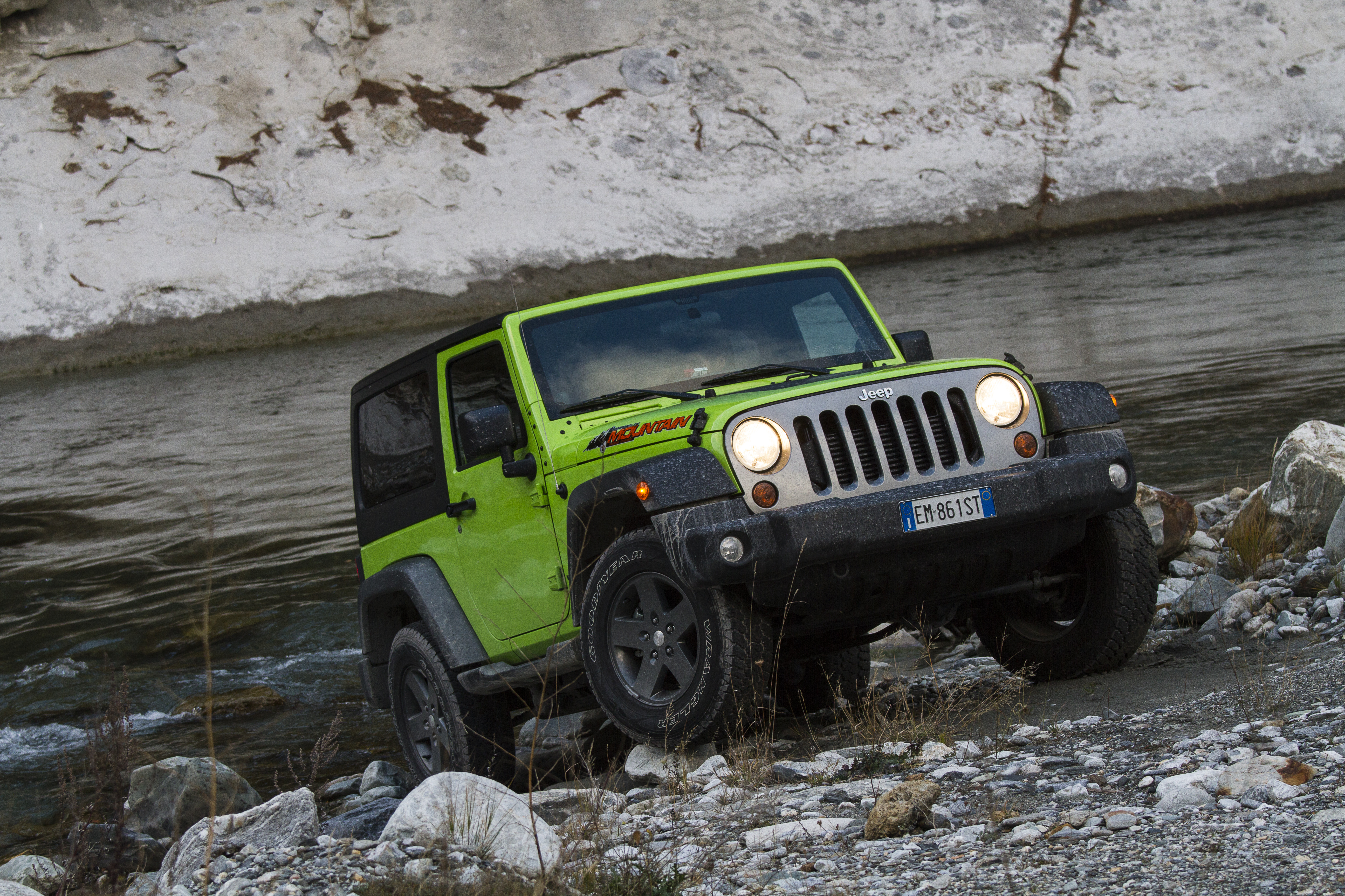 Jeep Wrangler Mountain Across the Alps | Flickr - Photo Sharing!