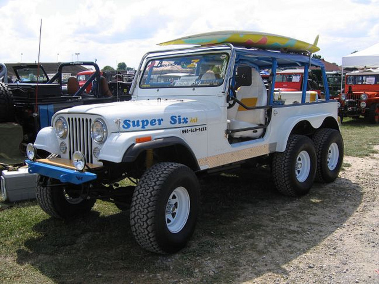 Jeep CJ-7 Super Six | Flickr - Photo Sharing!