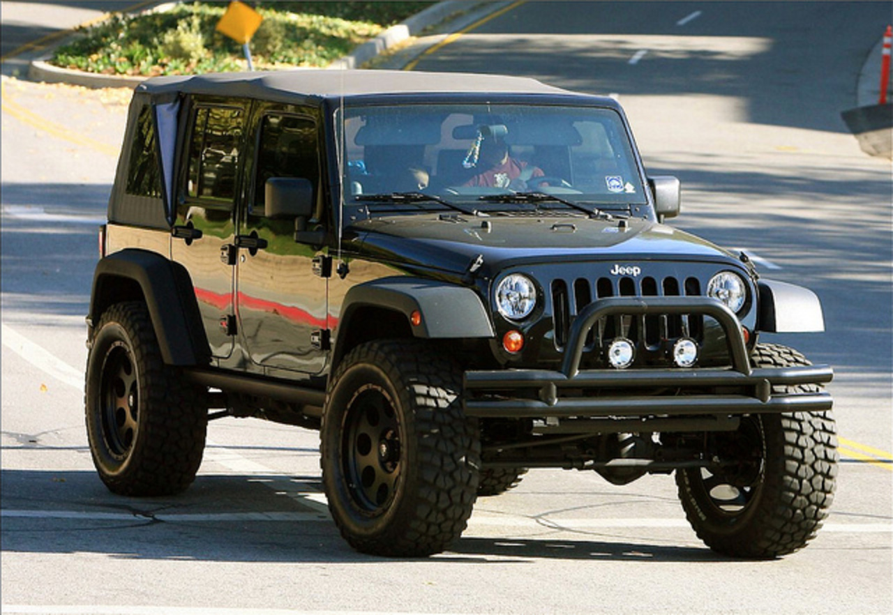 David Beckham's Jeep Wrangler Unlimited | Flickr - Photo Sharing!