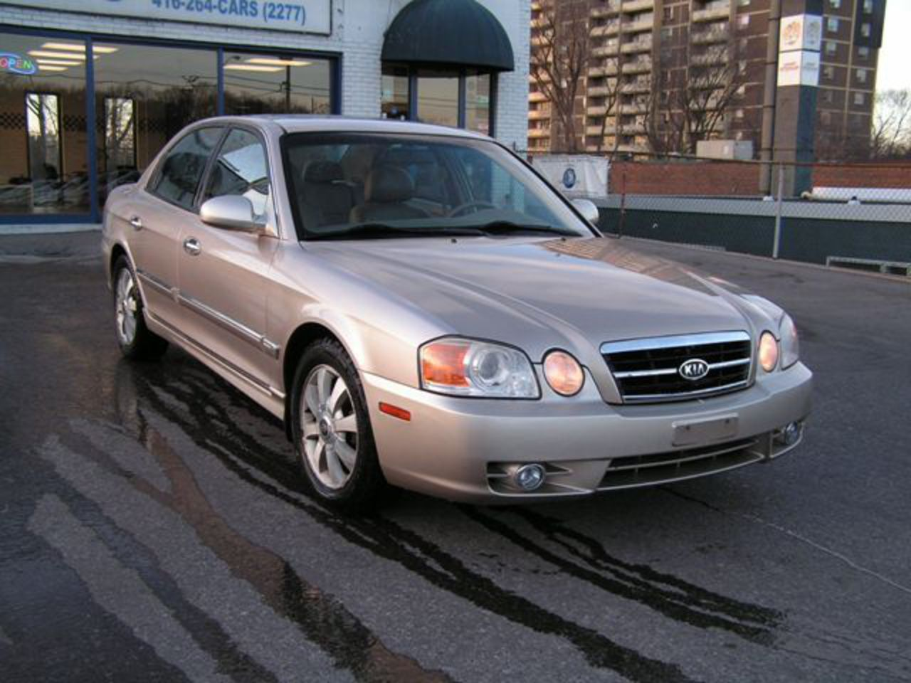 2004 Kia Magentis EX Leather Great Cond. Sunroof Gold | MEHRS AUTO ...