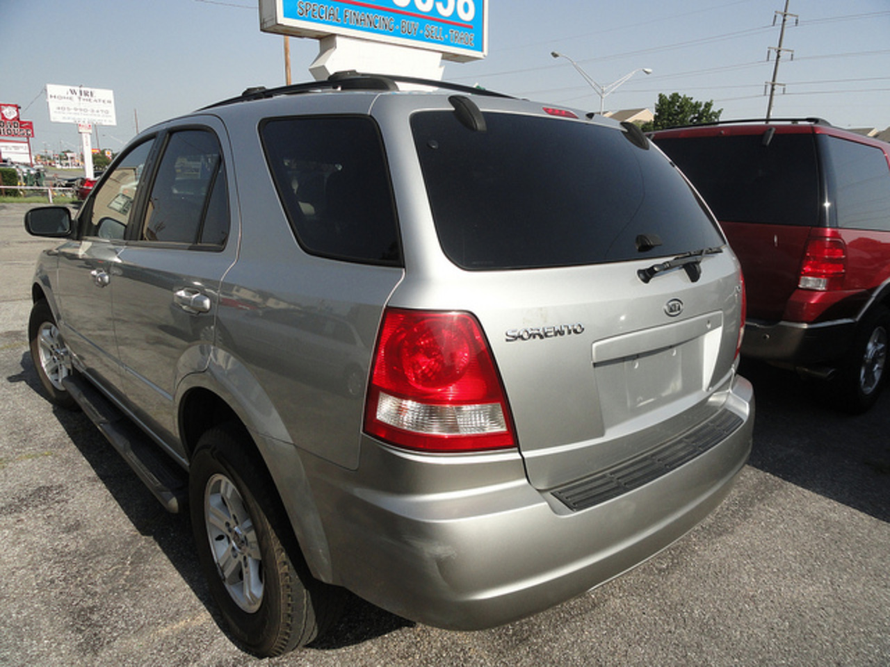KIA Sorento LX Back-Left | Flickr - Photo Sharing!