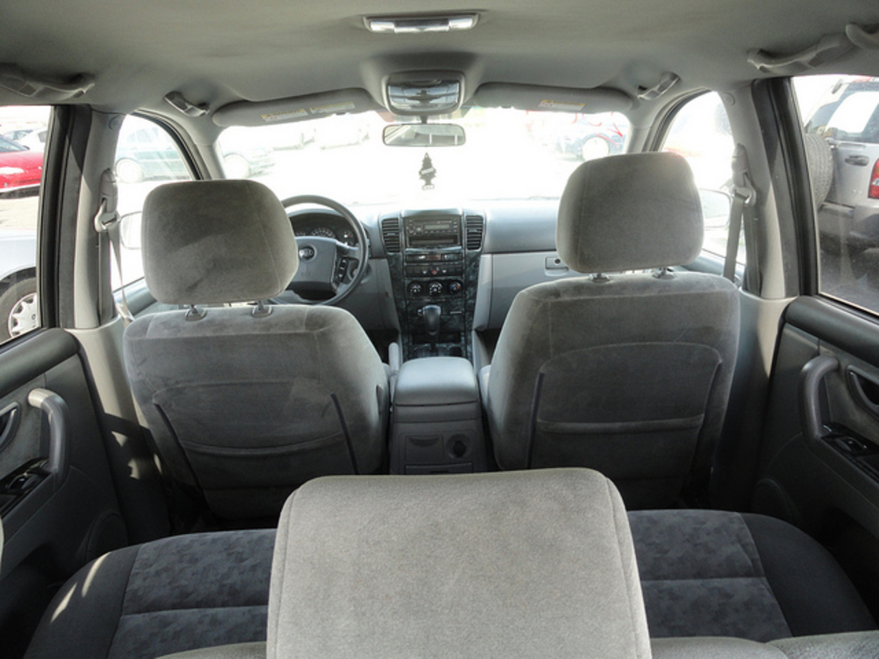 KIA Sorento LX Inside-Back | Flickr - Photo Sharing!
