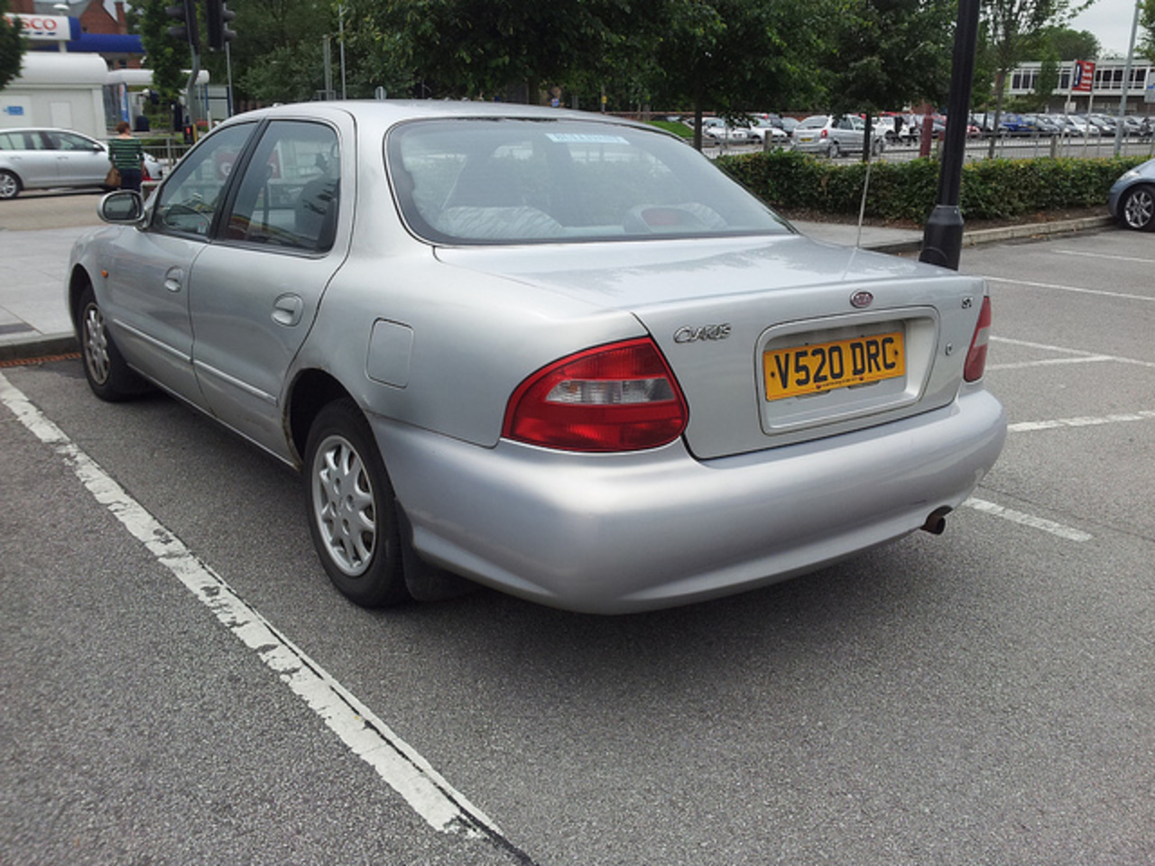 1999 Kia Clarus 1.8 SX Auto | Flickr - Photo Sharing!