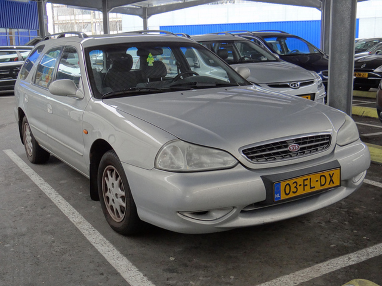 2000 Kia Clarus 1.8i Station Wagon | Flickr - Photo Sharing!