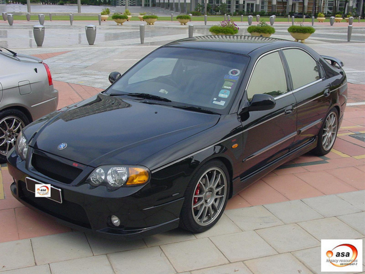 KIA Spectra RS Bumper | Flickr - Photo Sharing!