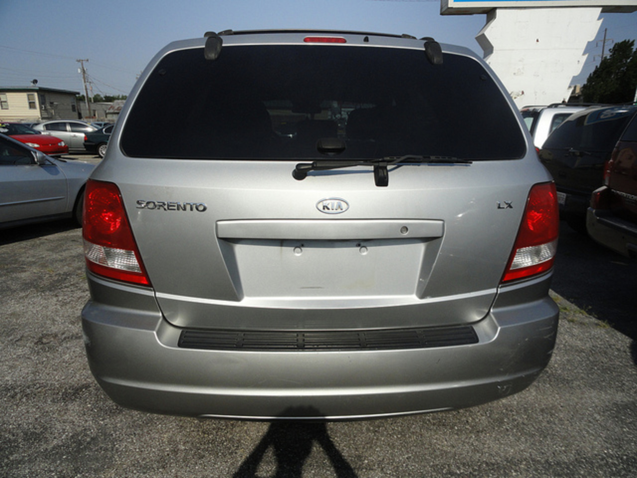 KIA Sorento LX Back | Flickr - Photo Sharing!