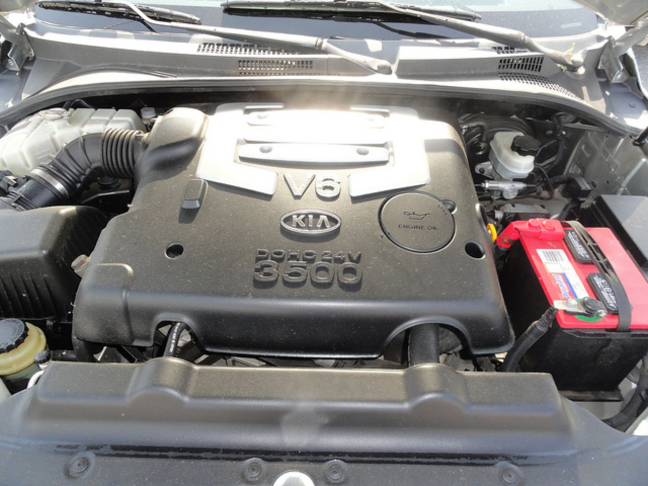 KIA Sorento LX Engine | Flickr - Photo Sharing!