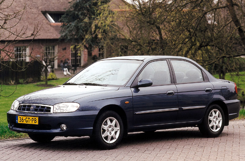 Kia Mentor 1.6 RS 2001 — Parts & Specs