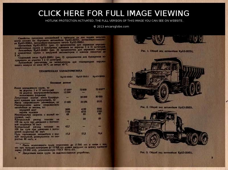 KrAZ 257 B: Photo gallery, complete information about model ...