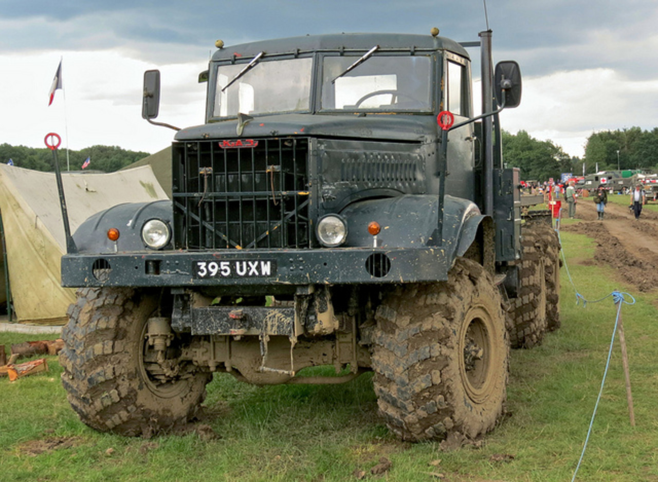 KrAZ 214 Russian Army Truck | Flickr - Photo Sharing!