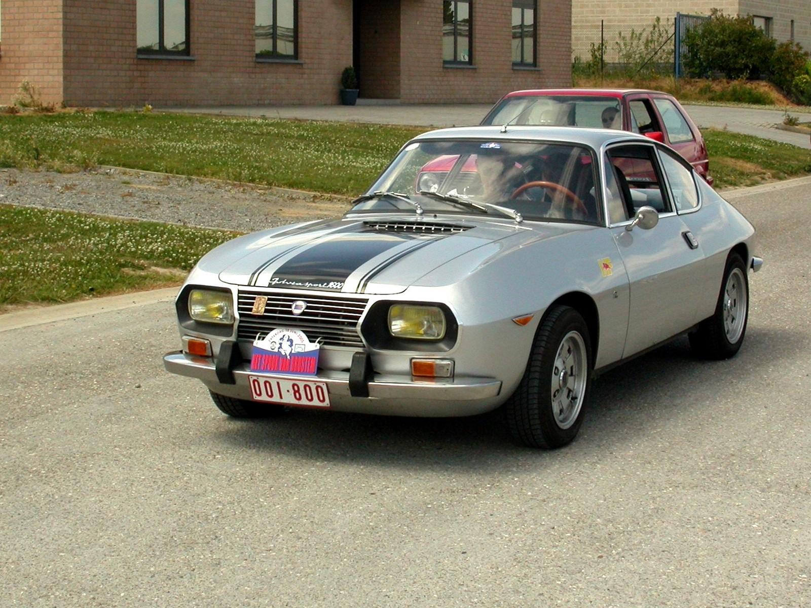 Fulvia Sport Die dritte Karosserievariante des Fulvia wurde von Ercole Spada bei Zagato im Auftrag von Lancia gezeichnet der Ende 1965 präsentierte Lancia Fulvia