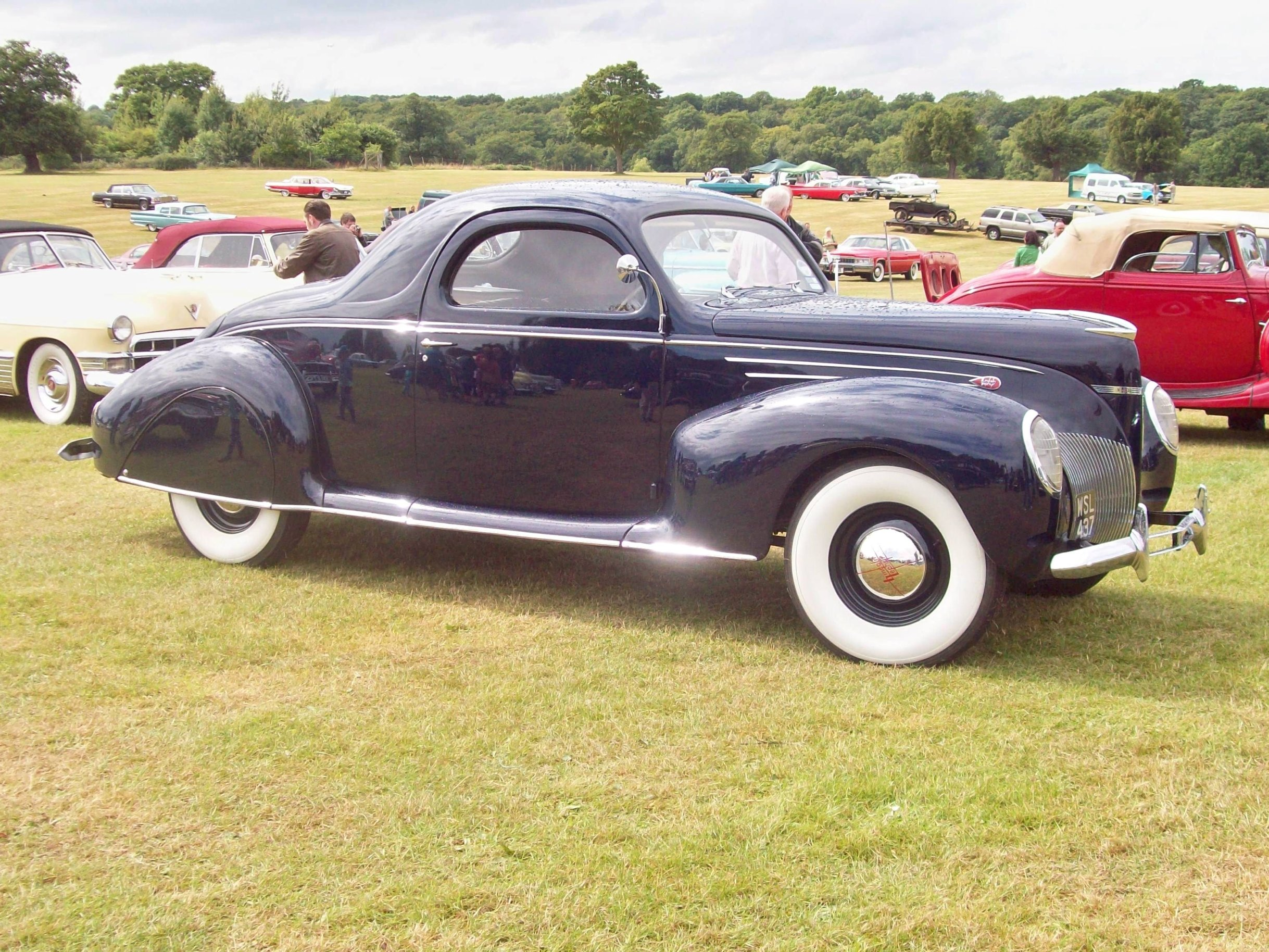 Topworldauto photos of lincoln zephyr photo galleries for 1939 lincoln zephyr 3 window coupe