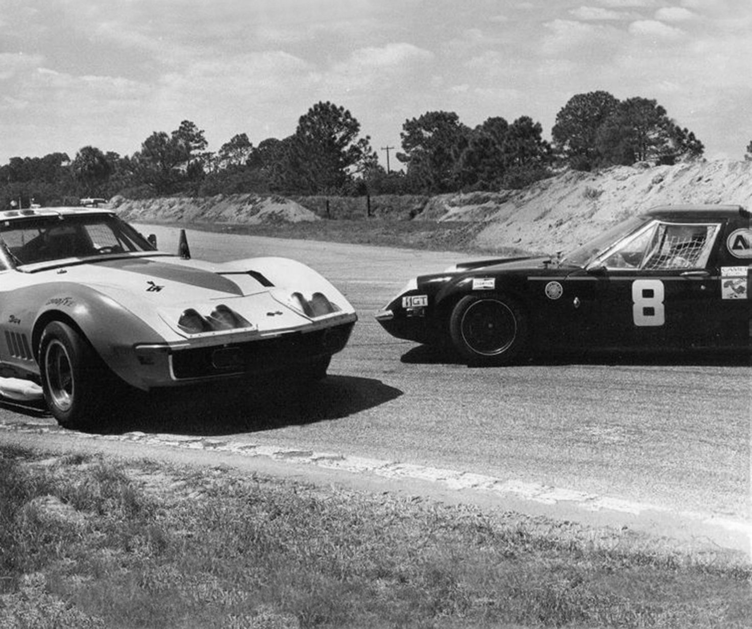 Trying to avoid the Lotus Europa at Sebring 1976. | Flickr - Photo ...