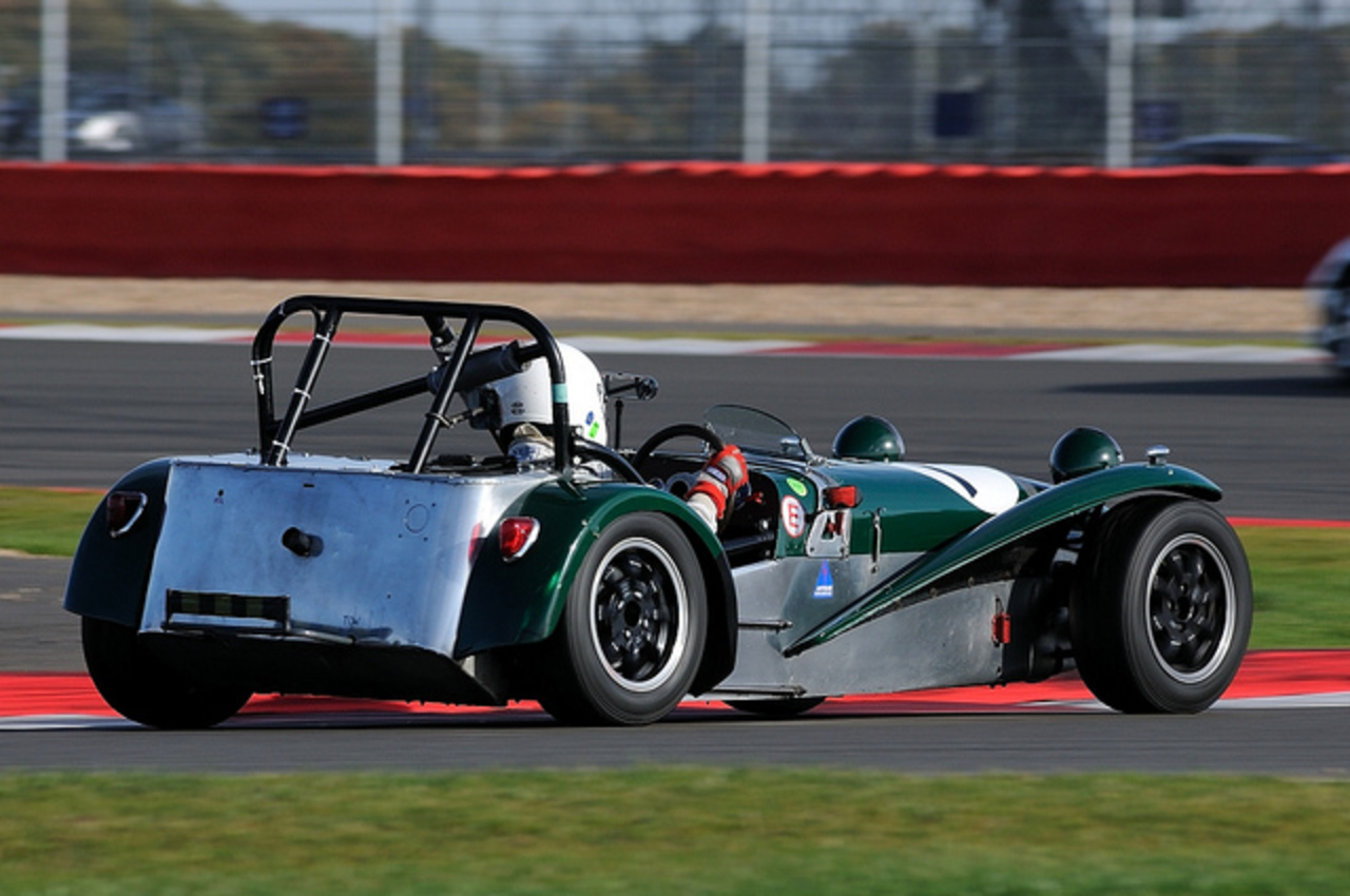 750MC Birkett 6hr Relay 2011:Silverstone - Lotus 7 S2 | Flickr ...