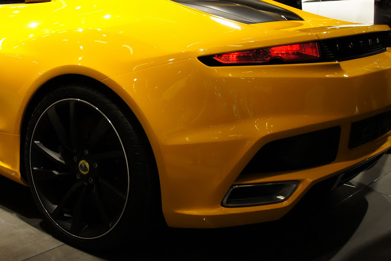 Small 2-Seater 2013 Lotus New Elan Paris Auto Show ~ Car and Style
