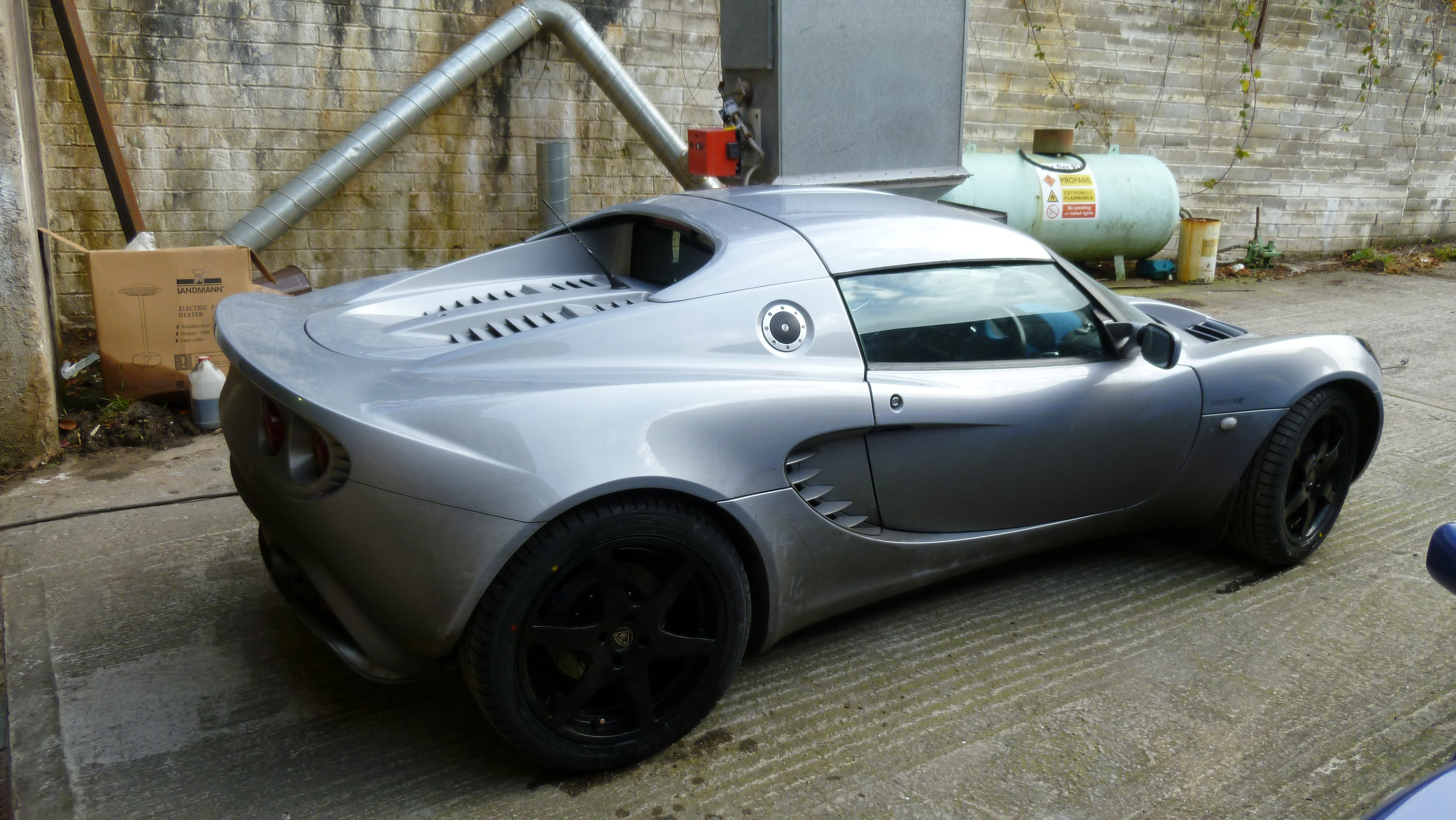 Lotus Elise 135R with optional hard top roof | Flickr - Photo Sharing!