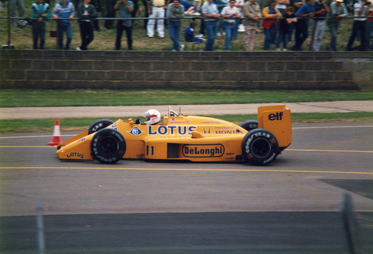 1987 07 File1564 1987 Lotus 99T No. 11 | Flickr - Photo Sharing!