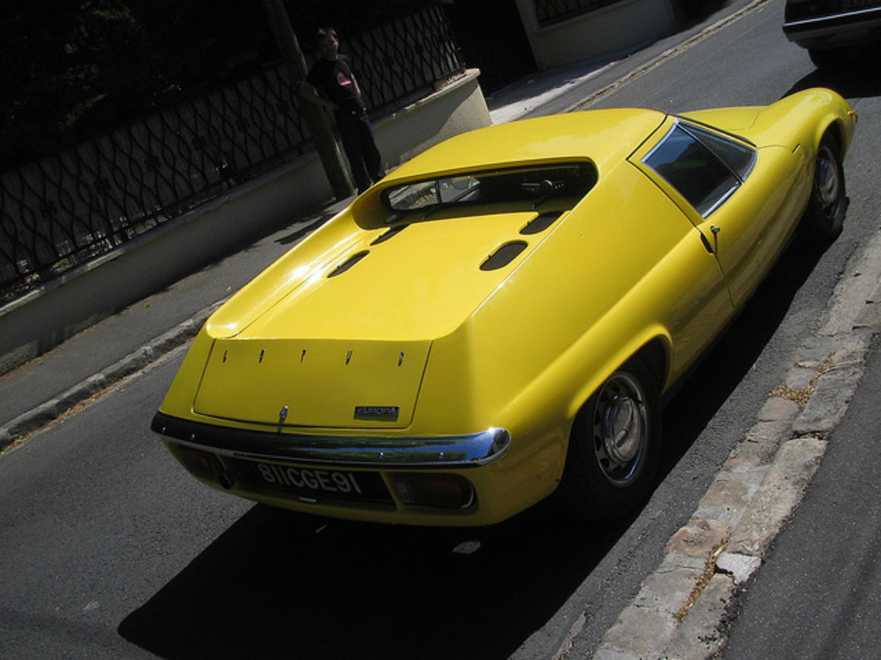 Lotus Europa, S2, 1969, Lotus Yellow | Flickr - Photo Sharing!