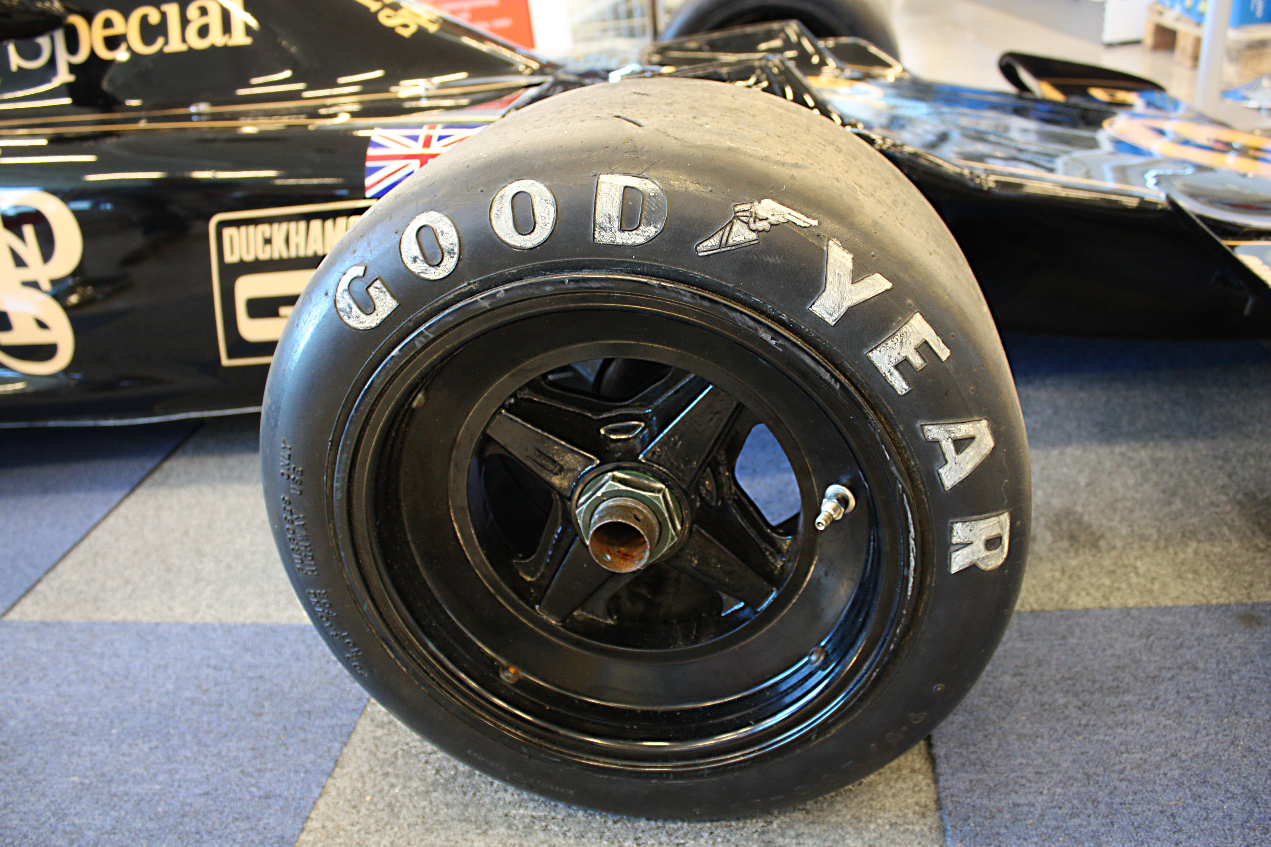 JPS Lotus 72 - Goodyear tyre - Ronnie Petersons F1 car | Flickr ...