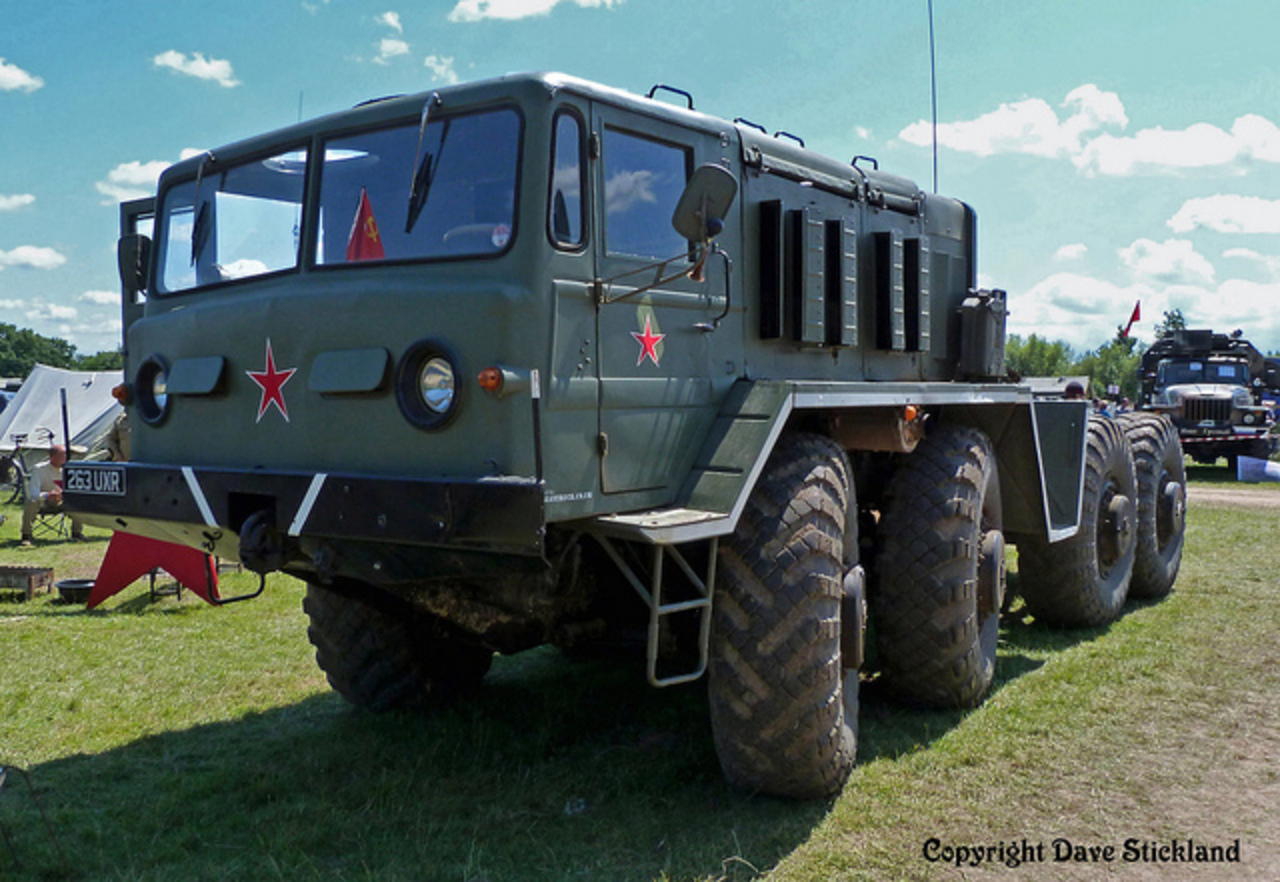 Russian Maz 537 Tank Transporter Tractor Cab | Flickr - Photo Sharing!