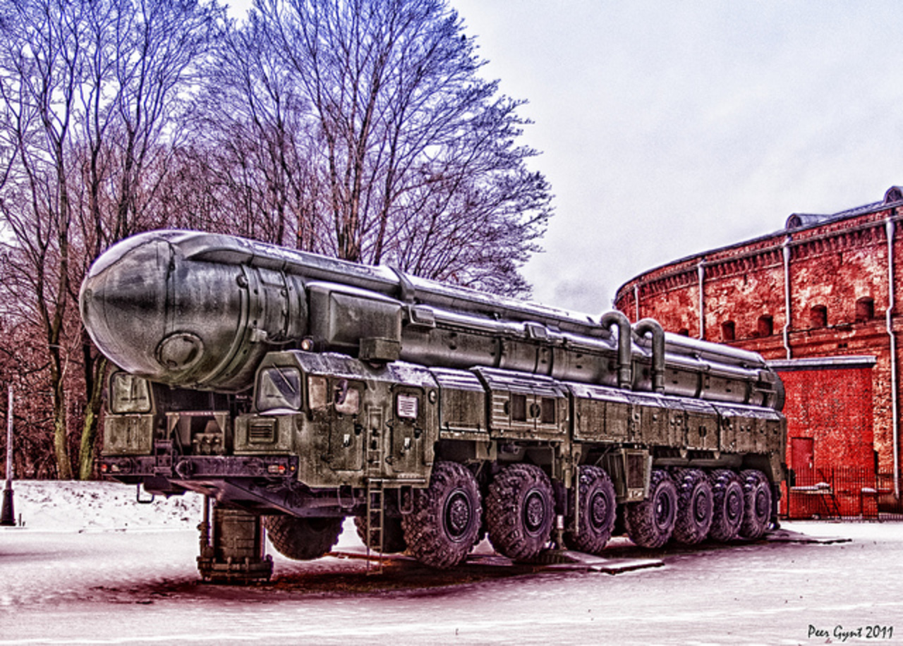 Russian Mobile Intercontinental Ballistic Missile RT-2PM Topol ...