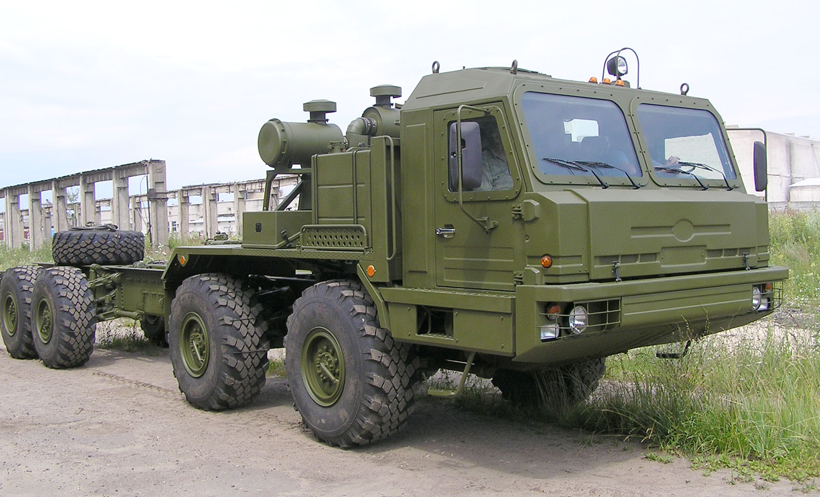S-300P/S-400/S-500 Air Defence System Vehicles